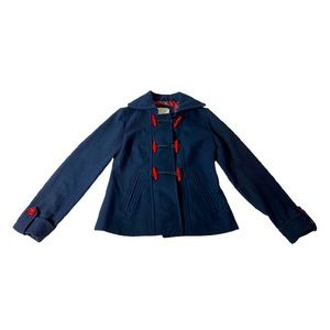 Delia's Wool Blend Pea Coat Jacket